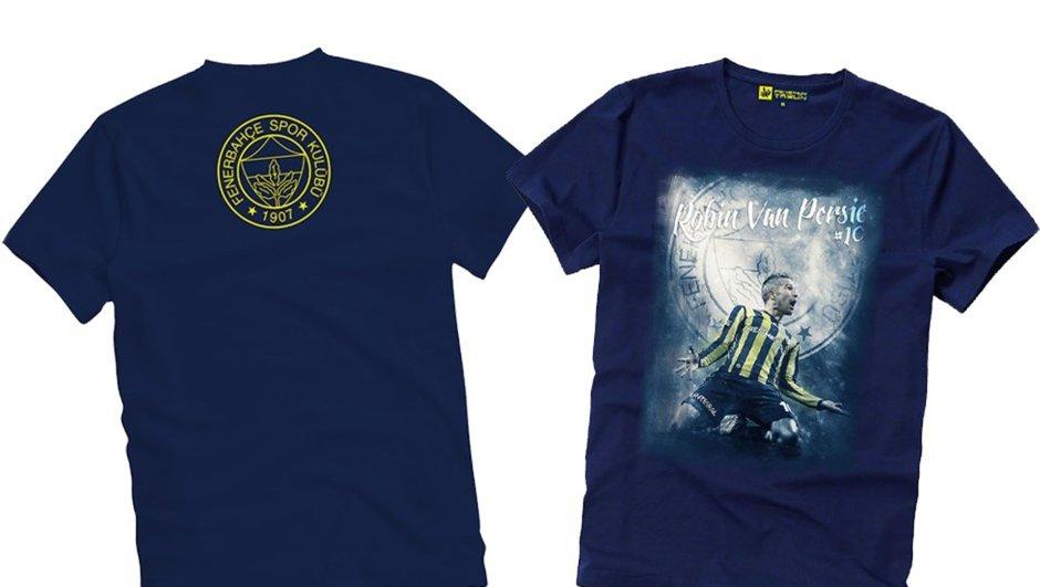 Fenerbahçe - Beşiktaş Robin van Persie tişört