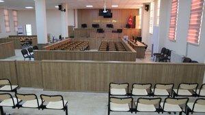 Şanlıurfa'da FETÖ'cülerin yargılandığı salon basına tanıtıldı