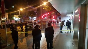 Mersin'de bankaya silahlı saldırı