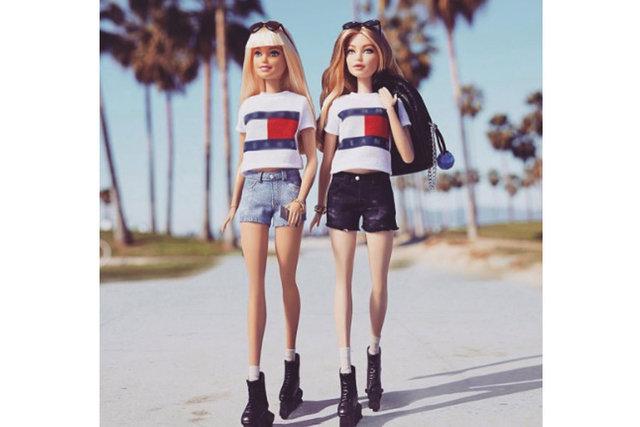 Gigi Hadid, Barbie'nin kankası oldu