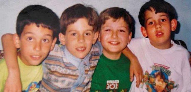 Futbolcuların çocukluk fotoğrafları