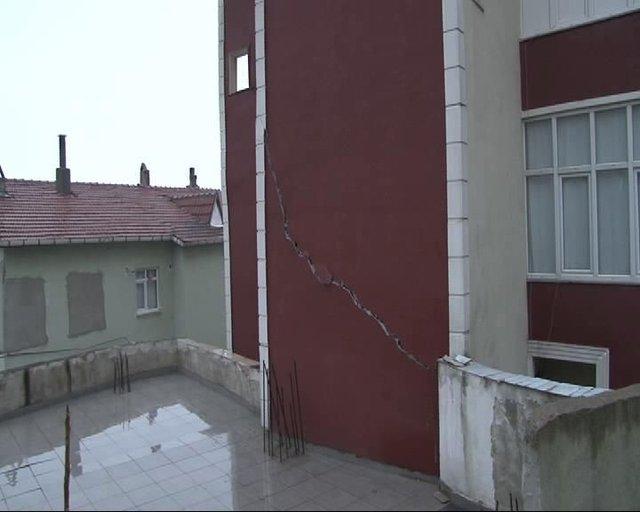 Üsküdar'da halkı sokağa döken gürültü