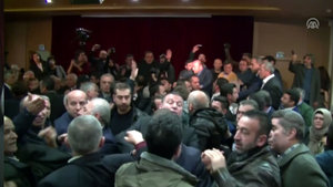 Sarıyer Belediye Meclis toplantısında kavga çıktı