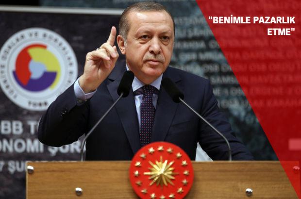 TOBB Ekonomi Şûrası Metin Kalkavan  Cumhurbaşkanı Recep Tayyip Erdoğan  Deniz Ticaret Odası
