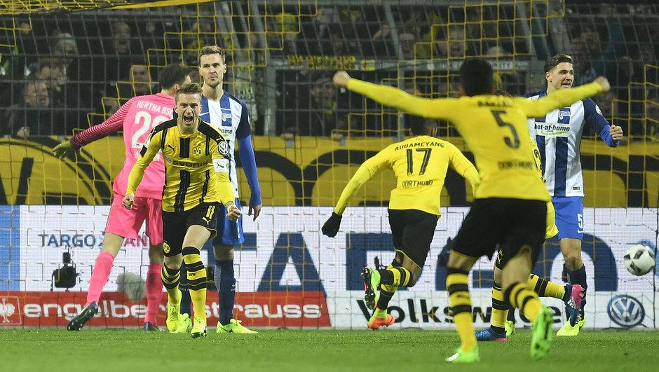 Borussia Dortmund: 2 - Hertha Berlin: 1
