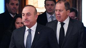 Çavuşoğlu, Rus mevkidaşı Lavrov'la görüştü