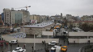 Taksim Camisi için çalışmalar başladı