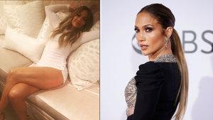 Jennifer Lopez'in bacaklarına rekor beğeni