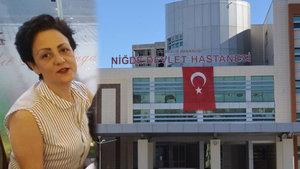 Tomografi çekilirken hayatını kaybeden Songül Dinçer'in ölüm nedeni belli oldu