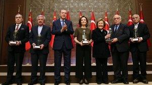 Kültür ve Turizm Bakanlığı Özel Ödülleri takdim edildi