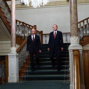 Erdoğan ve Putin'den kritik Suriye görüşmesi!