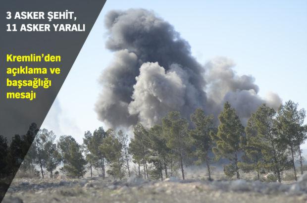 TSK: Rus uçağı kazaen TSK unsurlarını vurdu