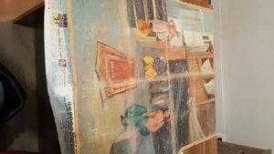 Tekirdağ'da Picasso'nun eseri olduğu iddia edilen tablo ele geçirildi