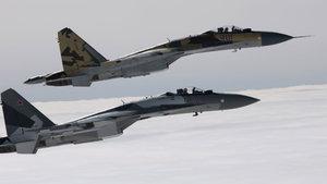 İngiliz jetleri, Rus savaş uçakları için havalandı