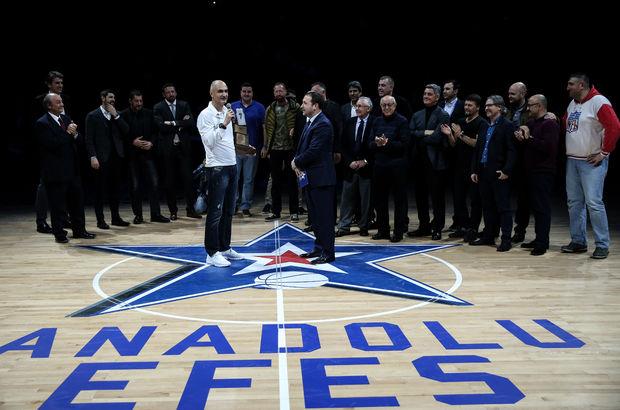 Anadolu Efes, Petar Naumoski'yi onurlandırdı!