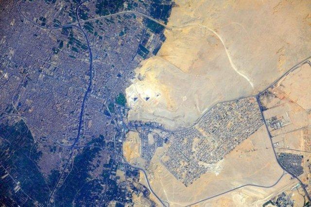 Uzaydan çekilen eşsiz dünya manzaraları