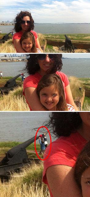Gelmiş geçmiş en kötü selfie'ler!