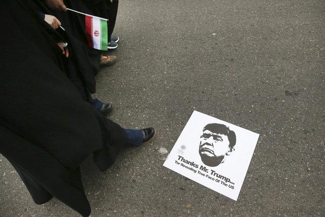 İran ABD ve Trump'a karşı ayakta!