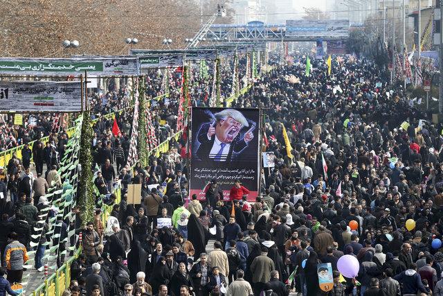 İran, ABD ve Trump'a karşı ayakta!