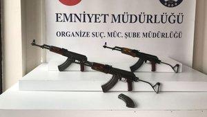 Şanlıurfa'dan gönderilen kargodan kalaşnikof silahlar çıktı