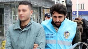 Samsun'da bahşiş kavgasında 2 kişiyi yaralayan garson tutuklandı