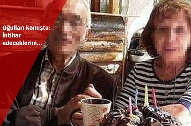 Ölüme el ele gitmişler! Yaşlı çiftin intiharıyla ilgili ayrıntılar