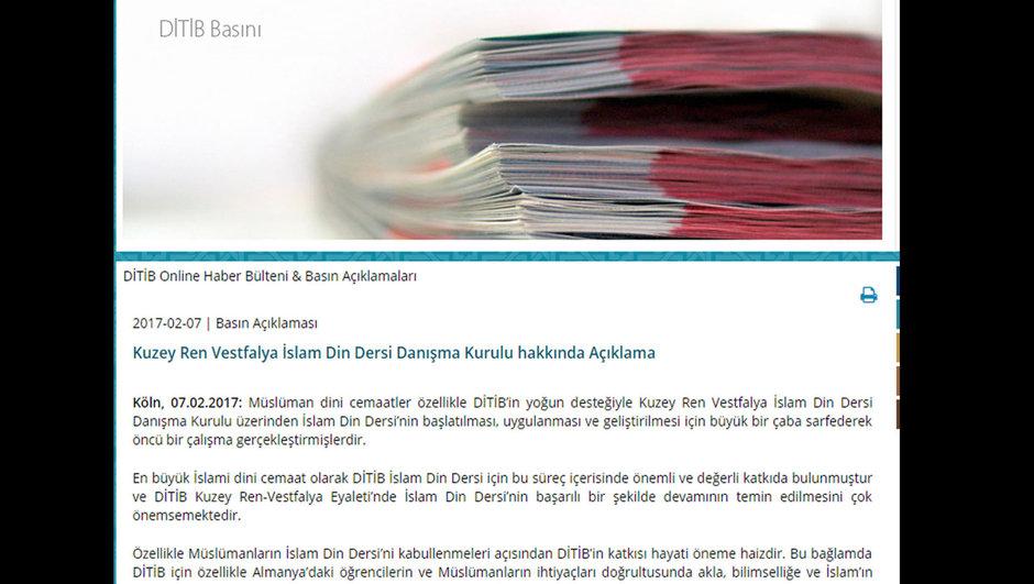 Diyanet İşleri Türk İslam Birliği
