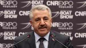 Bakan Arslan CNR Expo'da önemli açıklamalarda bulundu