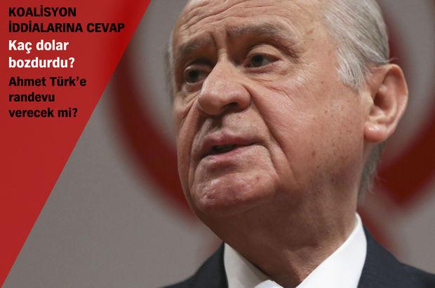 Bahçeli'nin açıkladığı slogan MHP kampının yapılacağı salona asıldı