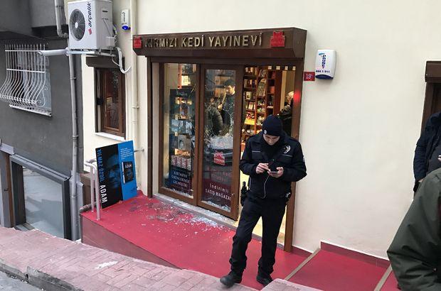 Beyoğlu'nda yayınevine çekiçli saldırı