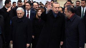 Erdoğan ve Yıldırım İstanbul'a gitti
