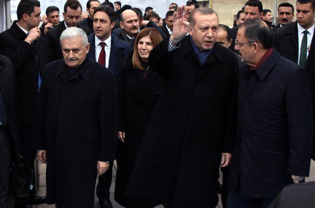 Recep Tayyip Erdoğan Binali Yıldırım Aksaray İstanbul Nevşehir Kapadokya