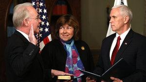ABD'nin yeni Sağlık Bakanı Price görevine başladı