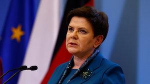 Polonya Başbakanı Beata Szydlo trafik kazası geçirdi