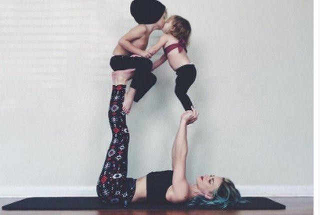 İşte Instagram'ın en fit annesi: Charity Grace LeBlanc
