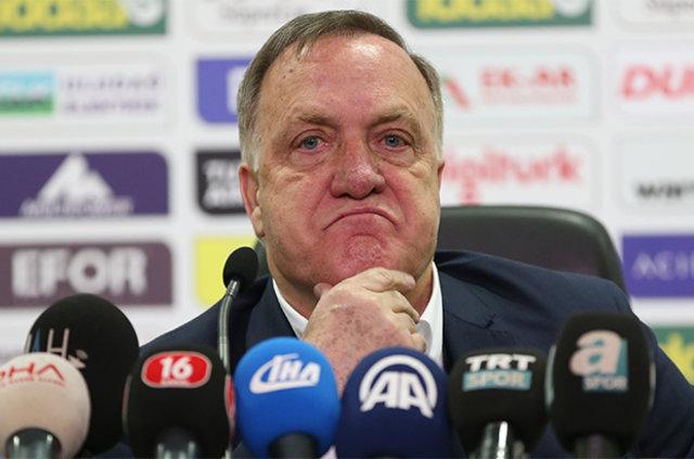 """Dick Advocaat: """"Şampiyonluk mümkün değil. Beşiktaş'ın dünya üzerinde çok dostu var"""""""