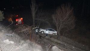 Adıyaman'da otomobil çaya düştü: 6 yaralı