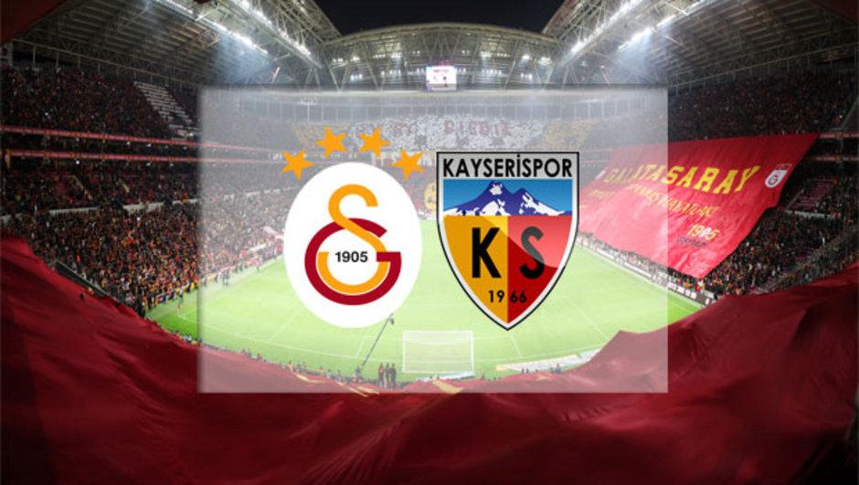 Galatasaray - Kayserispor maçı
