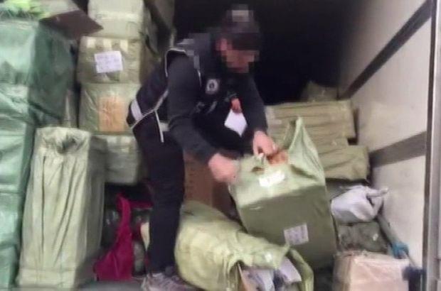 Bağcılar'da 6 milyon TL'lik kaçakçılık operasyonu