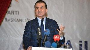 Ömer Çelik: Rejim tüccarlığı yapıyorlar