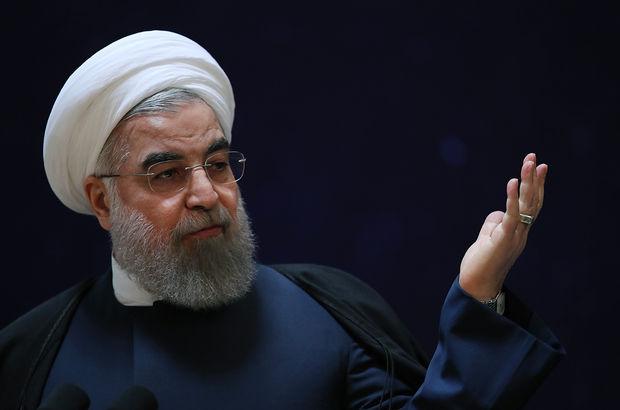 Trump'tan Ruhani'ye: Dikkat etse iyi olur