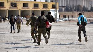 El Bab'da M4 çizgisi artık bir sembol