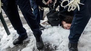 ABD'de ortalık karıştı! Gözaltı protestolarına da gözaltı!