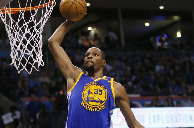 Kevin Durant Golden State Warriors Oklahoma City Thunder