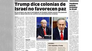El Nacional gazetesi Trump sanıp Baldwin'in fotoğrafını kullandı