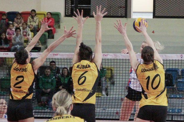 VakıfBank: 3 -Sarıyer Belediyespor: 0