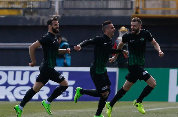 Akhisar Belediyespor: 1 - Çaykur Rizespor: 0