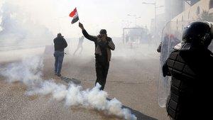 Irak'ta Yeşil Bölge'ye katyuşa füzesiyle saldırı!