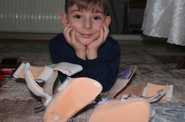 """Omurilik hastası 5 yaşındaki Duhan: """"Benim hiç arkadaşım yok"""""""