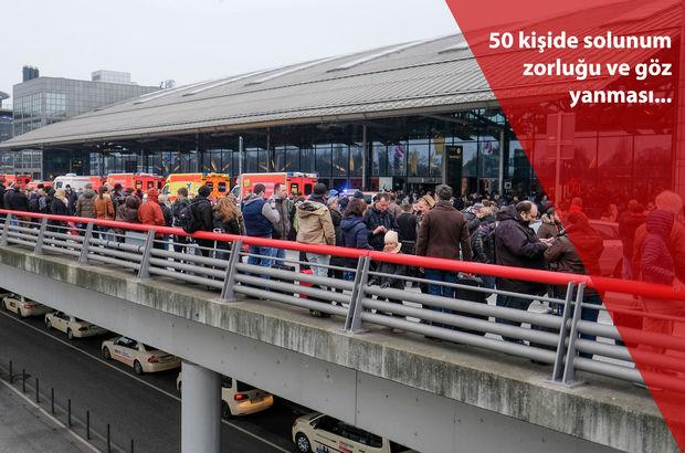 Hamburg Havalimanı'nda alarm! Yüzlerce kişi tahliye edildi